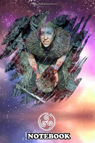 """Notebook: Hellblade Sacrifice , Journal for Writing, College Ruled Size 6"""" x 9"""", 110 Pages"""