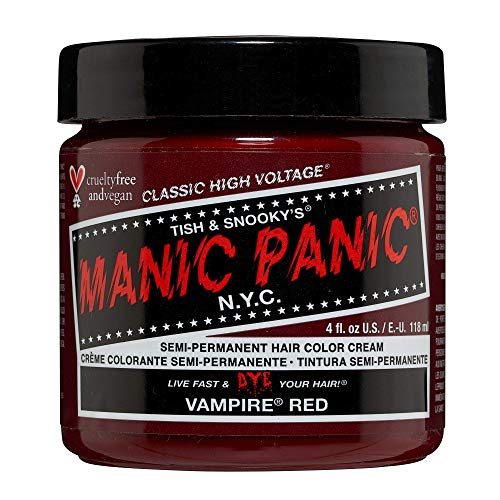 Manic Panic - Vampire Red Classic Creme Vegan Cruelty Free Semi-Permanent Hair Colour 118ml