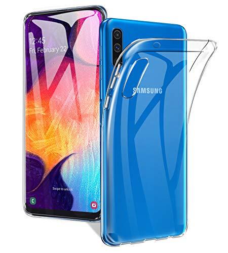 A-VIDET Hülle für Samsung Galaxy A50/A50S/A30S Ultra Dünn Durchsichtige Handyhülle Soft Flex Silikon TPU Hülle Cover für Samsung Galaxy A50/A50S/A30S -Transparent