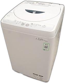 シャープ 全自動洗濯機 4.5Kg グレー ES-FG45L-H