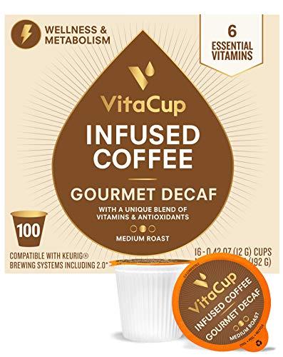 VitaCup Gourmet DECAF Blend Coffee Pods