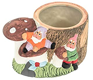 Ceramic Outdoor Indoor Mushroom Toadstool