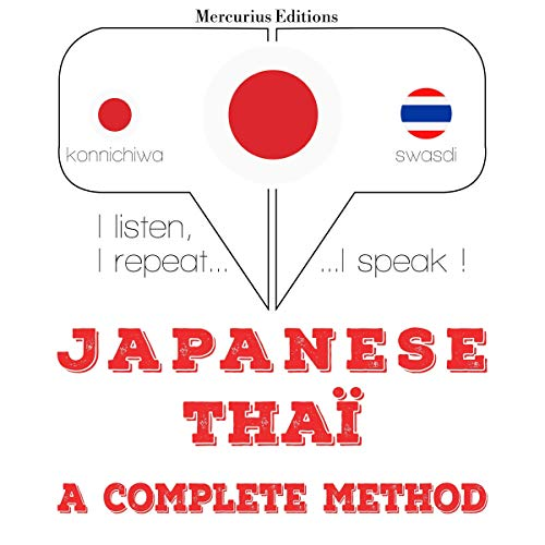 Japanese - Thaï. a complete method cover art