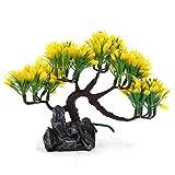 LHQ-HQ Plantas de Acuario de plástico Decorativo de la Aguamarina Ornamento Paisaje decoración casera