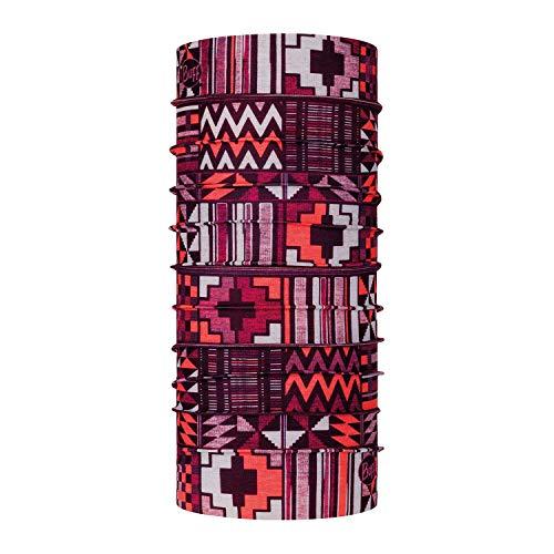 Buff Coolnet UV+ Tubolare, Unisex Adulto, Unisex - Adulto, 122518.555.10.00, Rosso, Taglia Unica