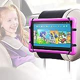 Soporte Tablet Coche, Arozxin Soporte Tablet para Reposacabezas, Soporte iPad Coche para Todos 7-9.7 Pulgadas Pantalla Dispositivos, Kindle Fire HD, iPad, Nintendo Switch, Otras Tablets - Negro