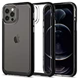 Spigen Neo Hybrid Crystal Compatibile con Cover iPhone 12, Cover iPhone 12 PRO - Black