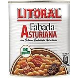 Litoral - Fabada Asturiana con Selectos Embutidos Asturiano - Pack de 3 x 865 g