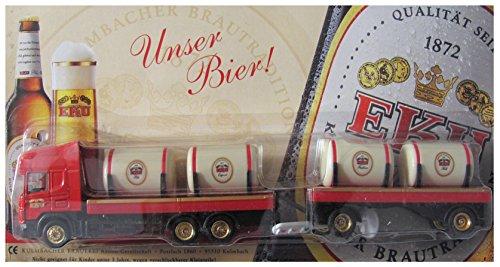 EKU Nr.35 - Unser Bier - Scania - Hängerzug mit Fässern