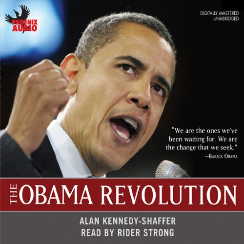 The Obama Revolution audiobook cover art