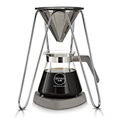STAINLESS STEEL CONE FILTER - The double filter is laser-cut with an additional mesh inside. Unlike paper filters which are a waste of money and rob you of coffee's natural essential oils, this will provide a clear rich tasting balanced coffee. FULL ...