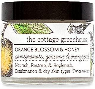 THE COTTAGE GREENHOUSE Face Mask, Orange Blossom & Honey, 2 oz