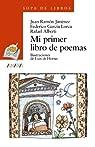 Mi primer libro de poemas par Jiménez