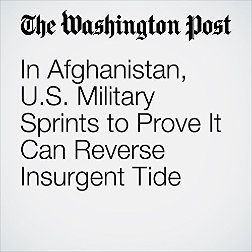 In Afghanistan, U.S. Military Sprints to Prove It Can Reverse Insurgent Tide copertina