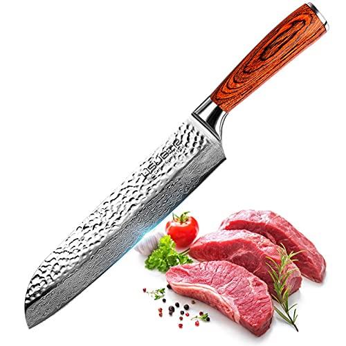 USUBIR Cuchillo de cocinero, cuchillo de cocina...