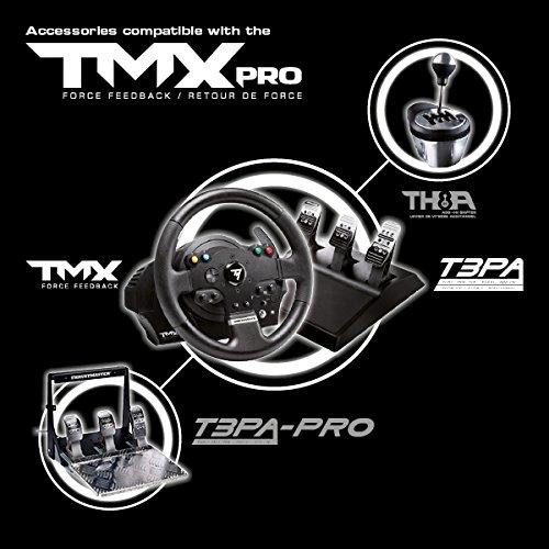 Thrustmaster TMX Pro - Volante - Xbox One/PC - Force Feedback - 3 Pedales - Licencia Oficial Xbox