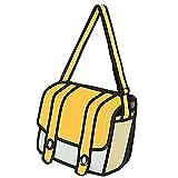 1stモール 二次元 ショルダーバッグ 鞄 カバン おしゃれ 景品 子供 メンズ イベント 便利 2D ゲーム トリックアート ST-NIZIBAG