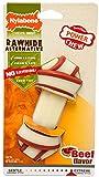 Hueso de Cerdo Extreme Sabor Queso - Juguete masticable para higiene Dental de los Perros - Sabor a Queso - Grande - para Perros de hasta 23 kg