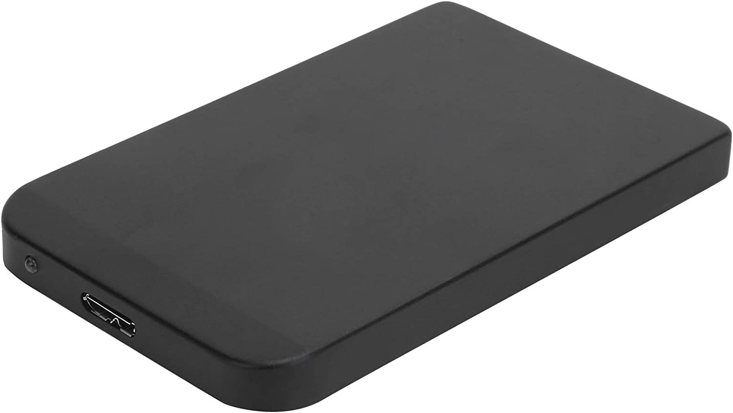 YD0004 USB to 3.0 2.5 Inch Portable Mobile Hard Drive, 80G 120G 250G 320G 500G 1TB 2TB Universal External Hard Drive for Computer Monitors and Laptop, Black(80G)