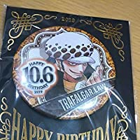 ONE PIECE ワンピース 缶バッジ トラファルガー ロー バースデイ缶バッジ 誕生日