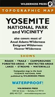 Yosemite National Park And Viciinity (Recreation Map)