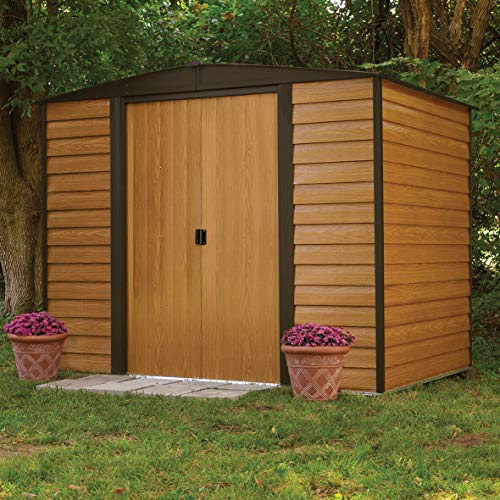 Rowlinson 8 x 6ft Woodvale Metal Shed