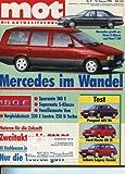 MOT - Die Autozeitschrift, Heft 5/1990, Test & Technik der Youngtimer der 90er