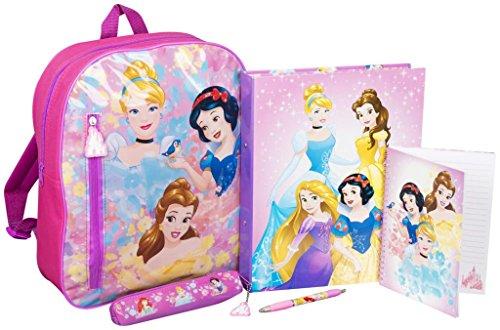 Disney Princess Stationery - Mochila, Color Rosa