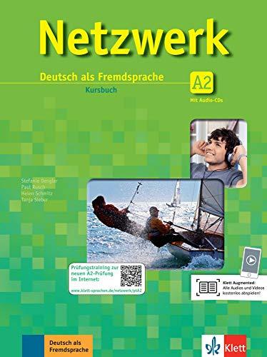 Netzwerk a2, libro del alumno + 2 cd: Kursbuch A2 mit 2 CDs: Vol. 2