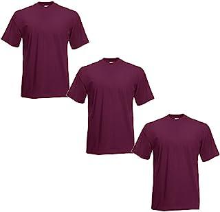 Fruit of the Loom Men's T-Shirt (Pack of 3)