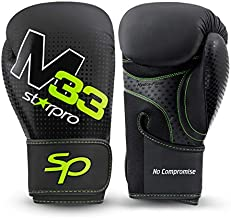 Starpro | M33 Boxing Gloves for Strong Punches & Fast KOs | Boxing Gloves for Men, Boxing Gloves for Women, Kickboxing Gloves, Boxing Training Gloves, Boxing Glove, 16 oz Boxing Gloves & More Sizes