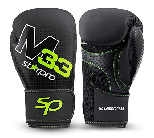 Starpro | M33 Boxhandschuhe für Harte Schläge & schnelles K.O. | Boxhandschuhe Männer, Boxhandschuhe Damen, Box Handschuh Herren Set, Boxen Sport, Box Training, Box Handschuhe, Boxing Gloves