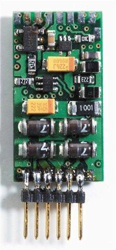Fleischmann 6872 - DCC-Decoder mit integriertem 6-poligem Stecker ohne Litzen