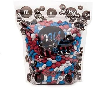 MY M&M'S Freedom Custom M&M'S 2lb Bulk Candy Bag