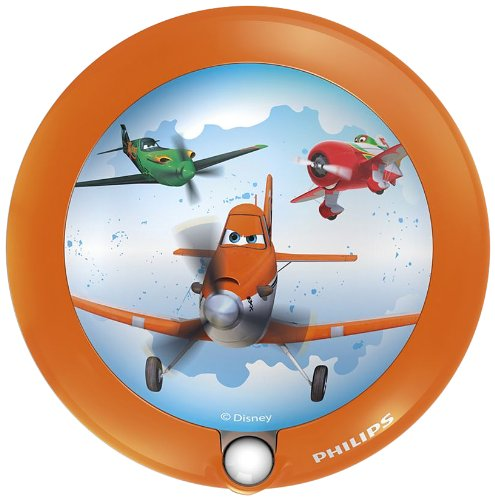 Philips Disney Planes LED Nachtlicht, orange, 717655316