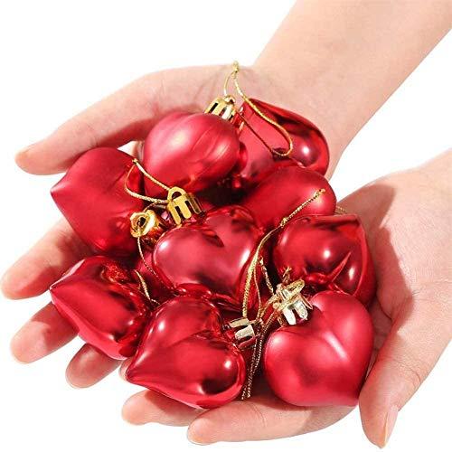 Adornos Colgantes en Forma de corazón deSan Valentín sAdornos Colgantes en Forma de corazónpara la decoración del día de San Valentín de la Ventana del árbol del hogar