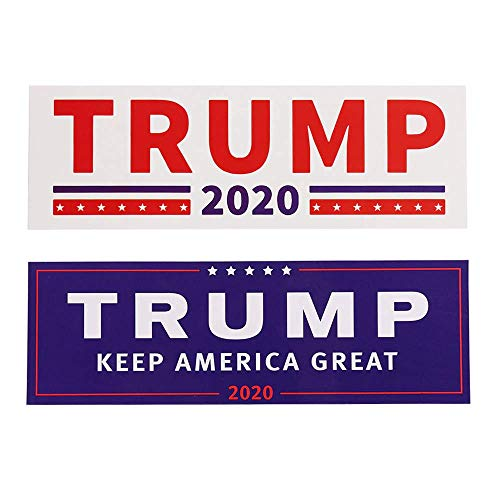 greework Trump Aufkleber Sticker 2 Stück im Set Größe 23x8cm