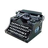 Decoración vintage, máquina de escribir hecha a mano, accesorio de decoración, decoración de bar