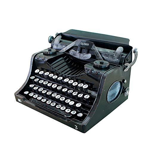 bowlder Retro Schreibmaschine zur Dekoration, Vintage Typewriter Zeigen Sie Requisiten An die Handgefertigte Bar Dekorationen Bieten