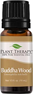 Plant Therapy Buddha Wood Essential Oil 10 mL (1/3 oz) 100% Pure, Undiluted, Therapeutic Grade