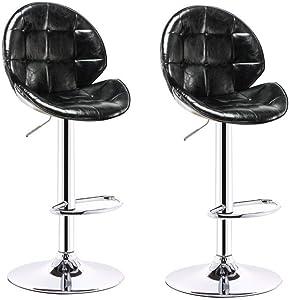 QQXX AGLZWY Barhocker Esszimmerstühle Modern Backless Metallrahmen Gepolsterter Sitz Für Kücheninsel Bistro Cafe Cafe4 Farben (Farbe: Grün, Größe: 35x26x45cm)