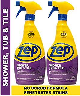 Zep Shower Tub and Tile Cleaner 32 Ounce ZUSTT32PF (Pack of 2)