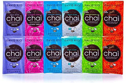 David Rio Chai Latte Probierpaket (12 Portionsbeutel)