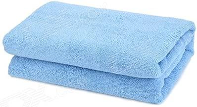 RBK Jumbo Cotton Beach Towel (Blue, 36x72-inch)