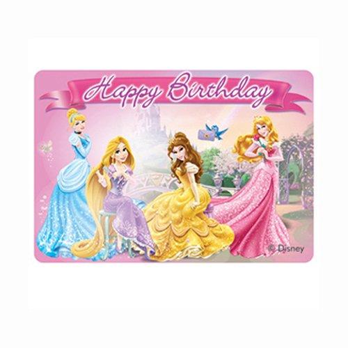 Candela Decorativa per torta Principesse Disney