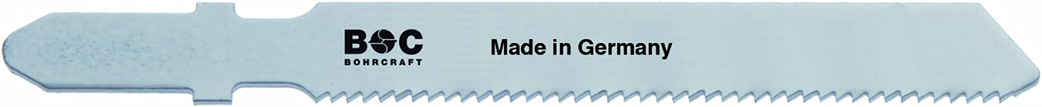 Bohrcraft–Sierra de calar BI de metal, dientes triscado, ZT 1,8–2,5x 75mm Longitud en 5Ondulado BC SB de tarjeta, 1pieza, 19651600002