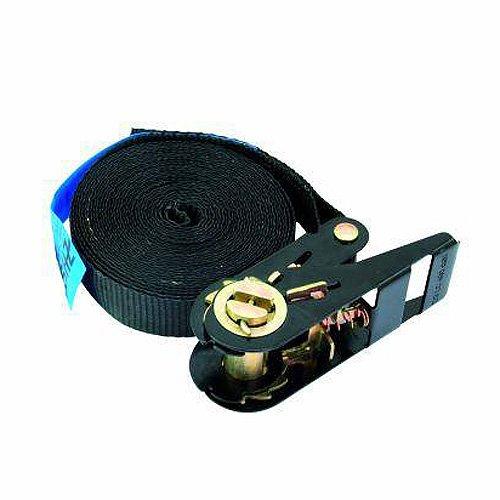 Omnitronic 60206787 SHZ S400 Spanngurt Ratsche (5 m, 25 mm) schwarz