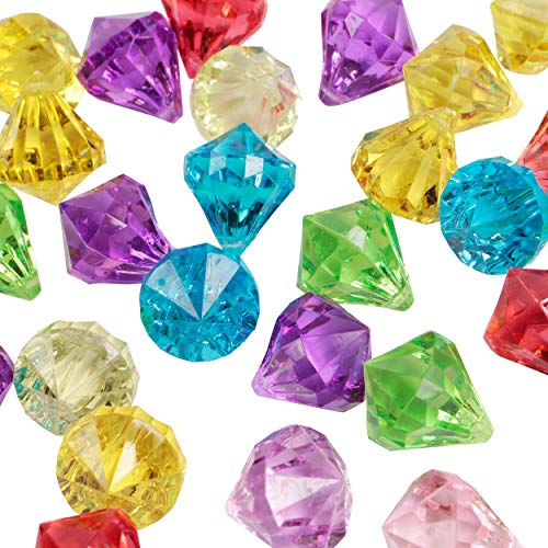 Large Fake Acrylic Diamond Gems Decoration Scatter Crystals Wedding Table...