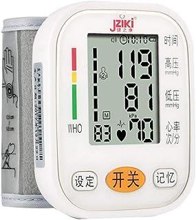 Tensiómetro de muñeca,Tensiómetro Digital De Muñeca Totalmente Automático Presión Arterial Y Detección De Pulso Arrítmico Memoria (2 * 99)