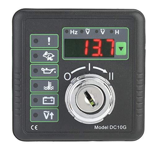 Reemplazo de 4 dígitos, pantalla de tubo, accesorios de generador, controlador de arranque manual del motor, impermeable para generador